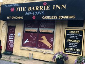 Front of The Barrie Inn Store